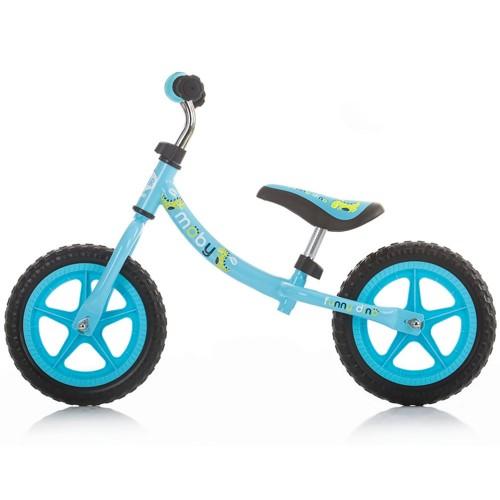 Bicicleta fara pedale Chipolino Moby blue imagine