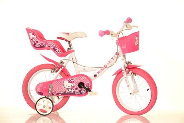 Bicicleta pentru fetite Hello Kitty 16 inch