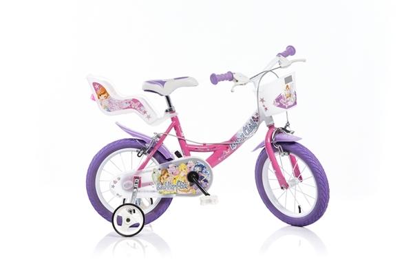 Bicicleta pentru fetite Winx diametru 16 inch