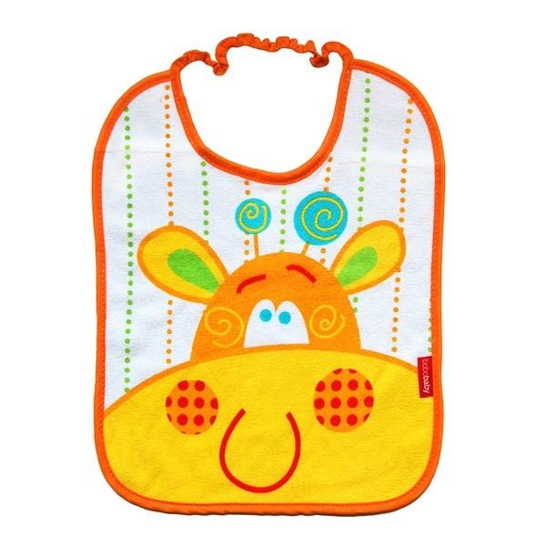 Baveta frotir BoboBaby 12 luni+ Girafa