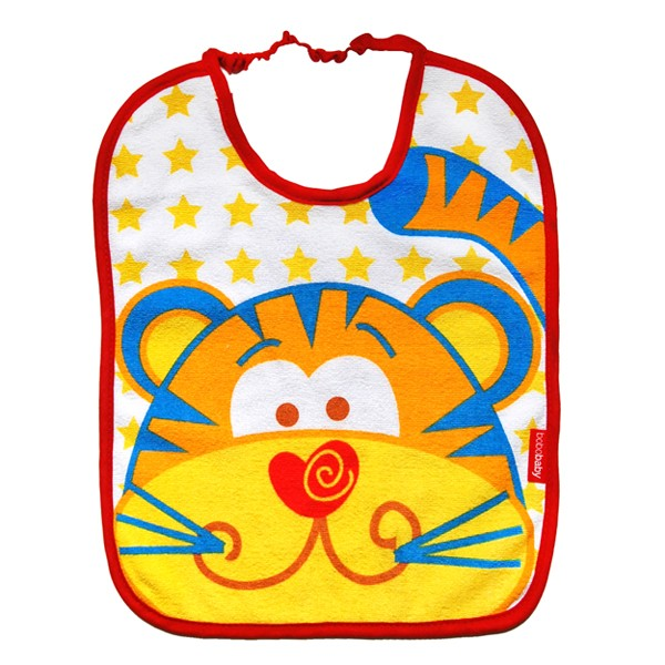 Baveta frotir BoboBaby 12 luni+ Tigru