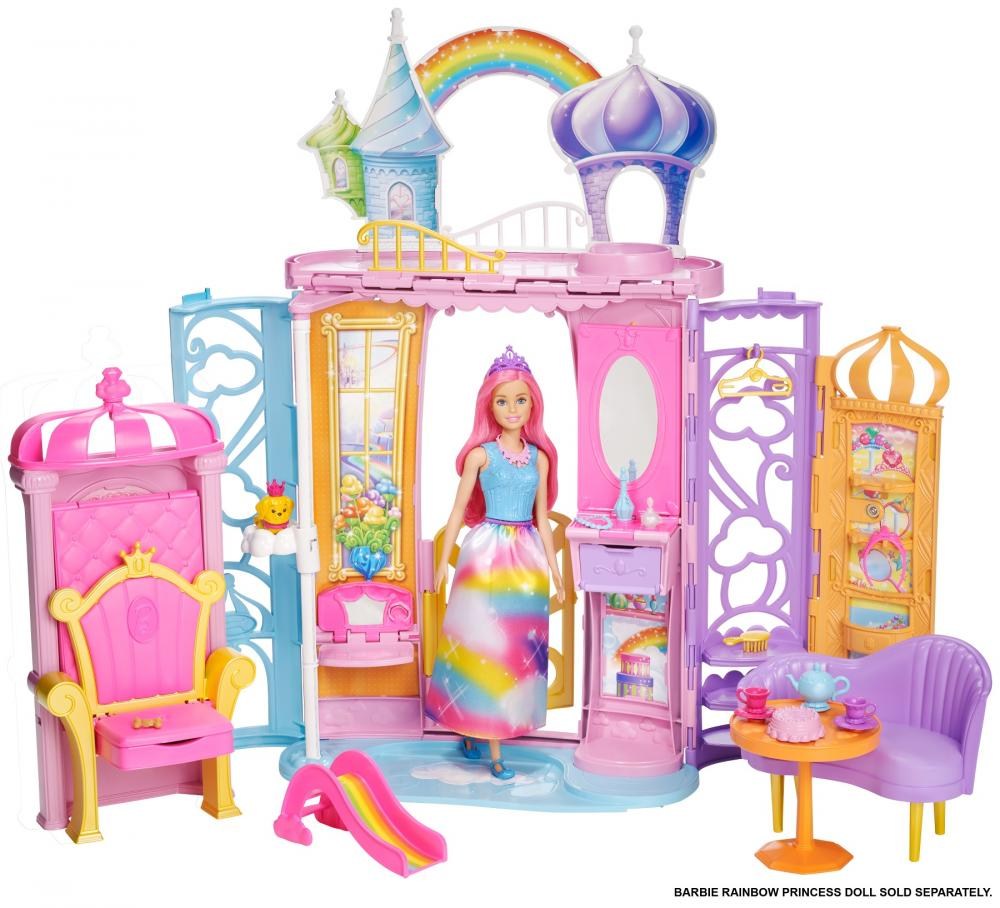 Castelul curcubeu Barbie