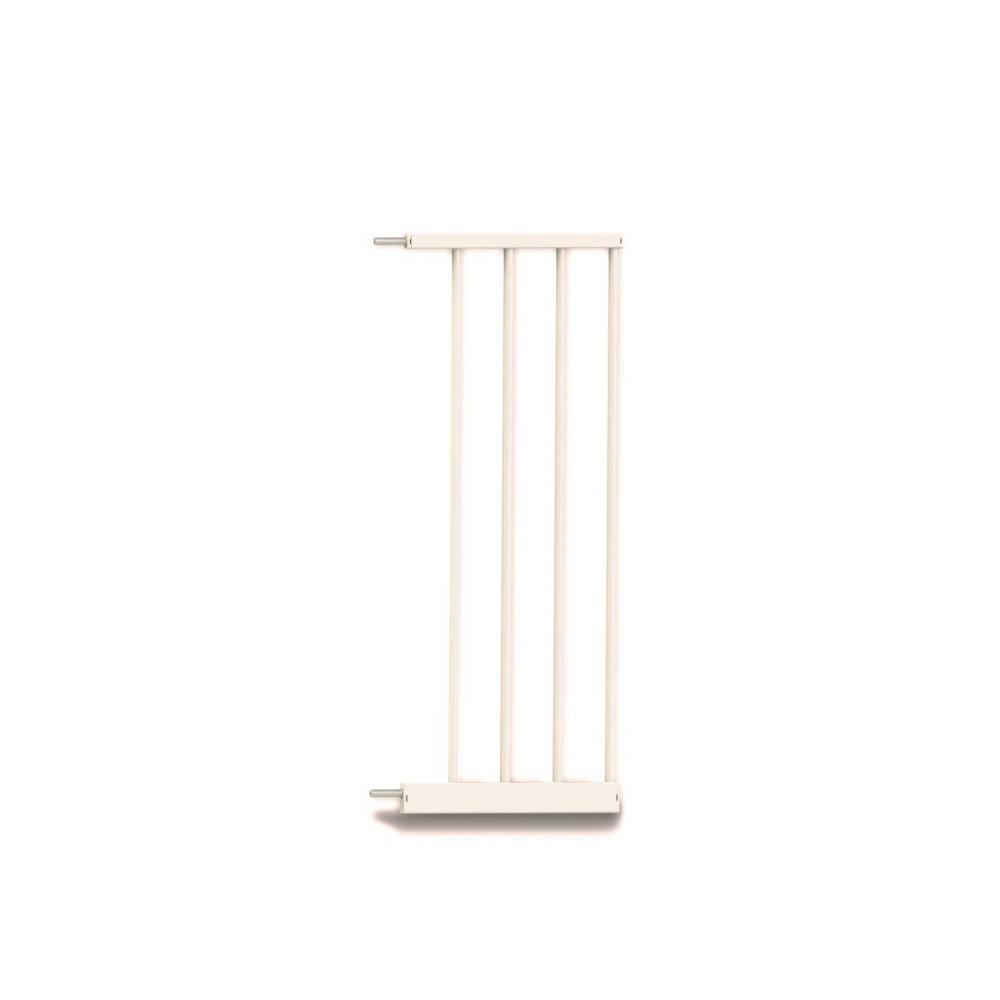 Extensie poarta de siguranta Noma metal alb 28 cm N93972