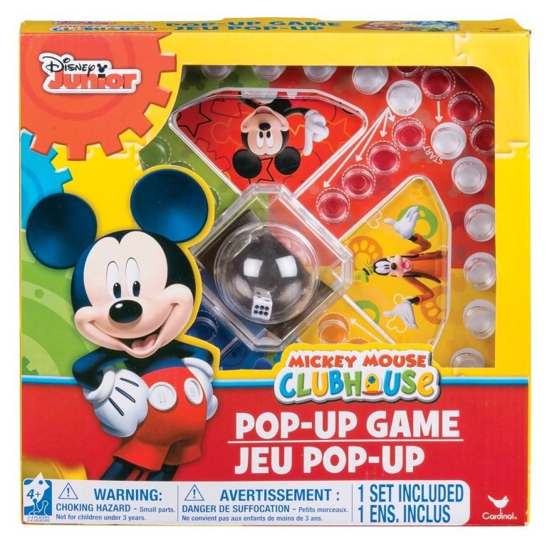 Joc Pop Up Cu Zaruri Mickey Mouse