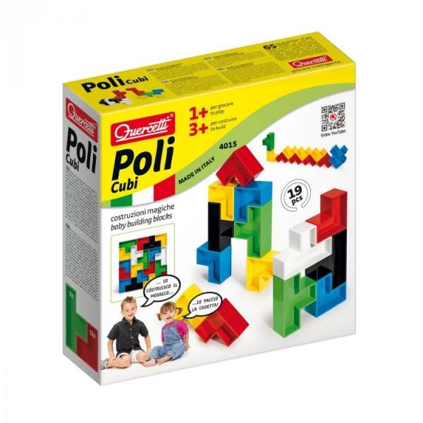 Joc creativitate si indemanare Quercetti joc constructie Poli 19 piese