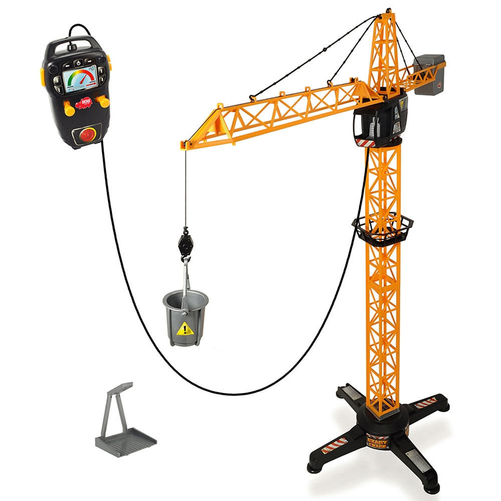 Macara Giant Crane cu telecomanda Dickie Toys