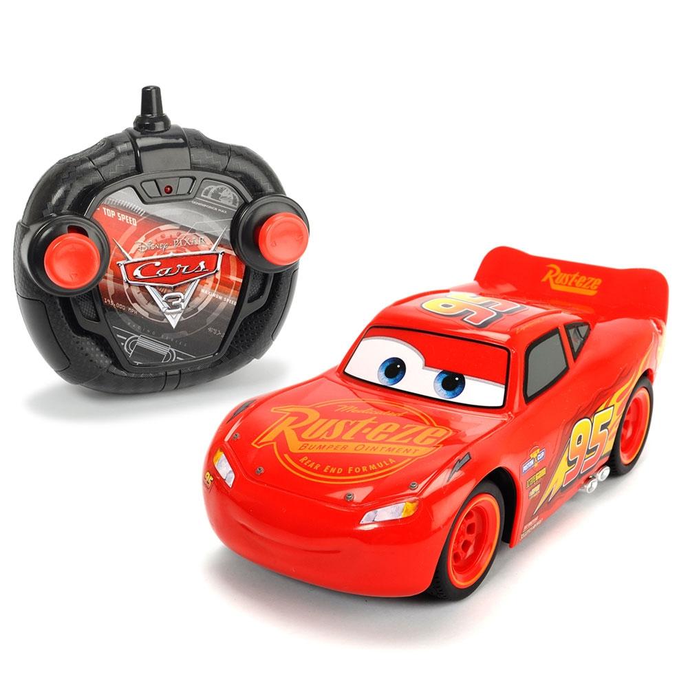 Masina Dickie Toy Cars 3 Turbo Racer Lightning McQueen cu telecomanda