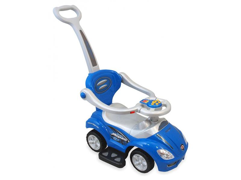 Masinuta de impins copii Baby Mix URZ382 2 in 1 Blue imagine