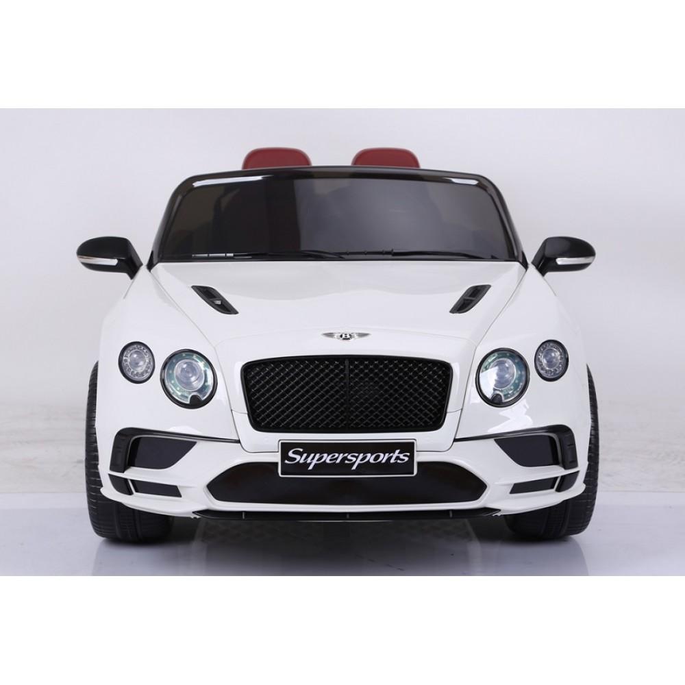 Masinuta electrica Bentley Continental alb