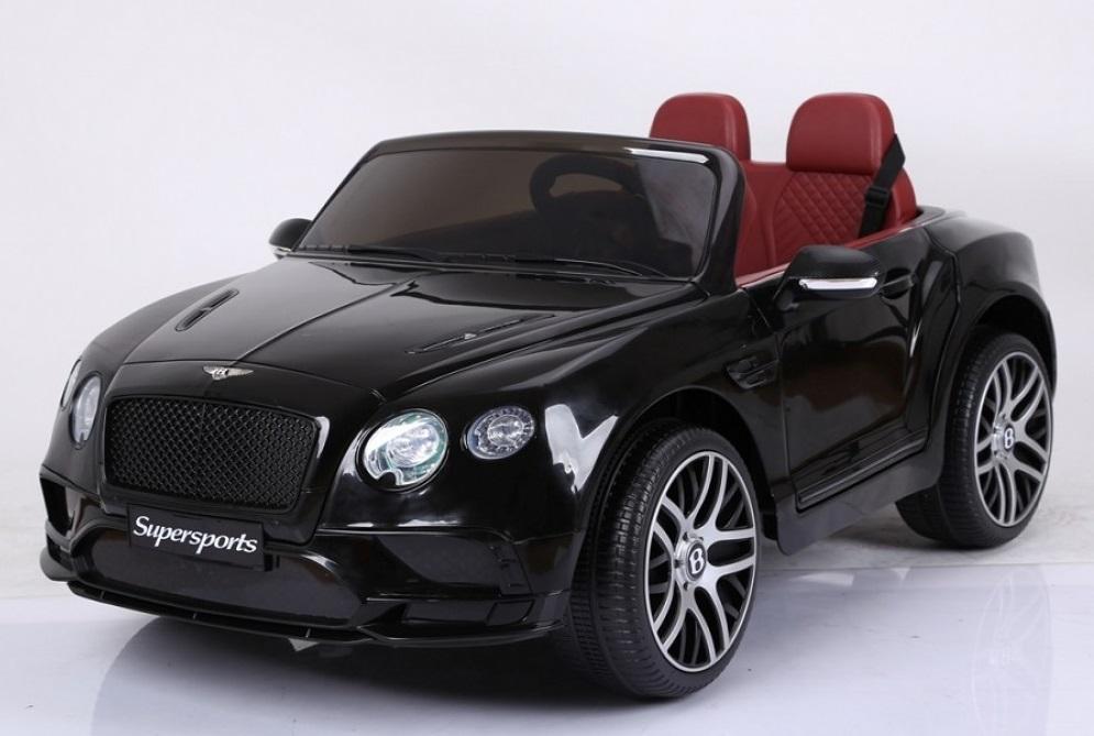 Masinuta electrica Bentley Continental negru - 6