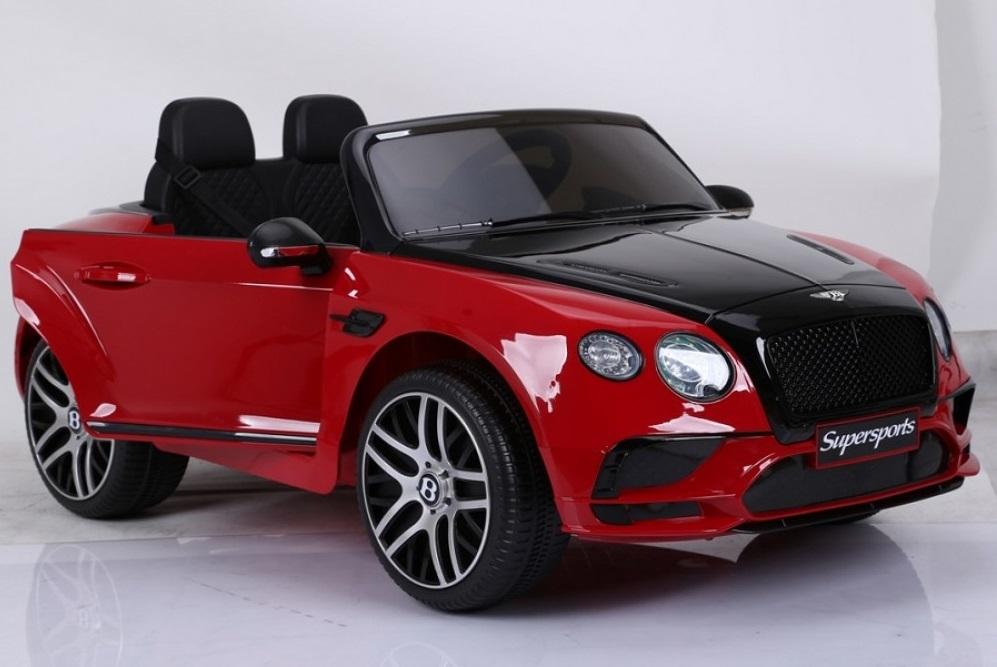 Masinuta electrica Bentley Continental rosu - 6