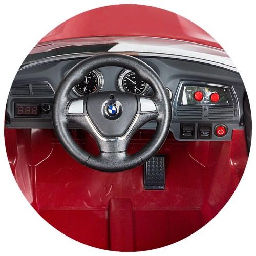 Masinuta electrica cu telecomanda Chipolino BMW X6 white