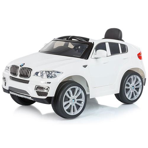 Masinuta electrica cu telecomanda Chipolino BMW X6 white - 3
