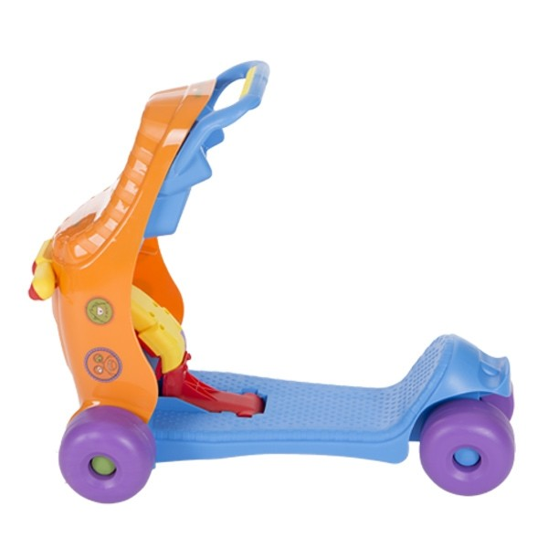Masinuta pentru copii Ride on Baby Walker 3 in 1 BlueOrange