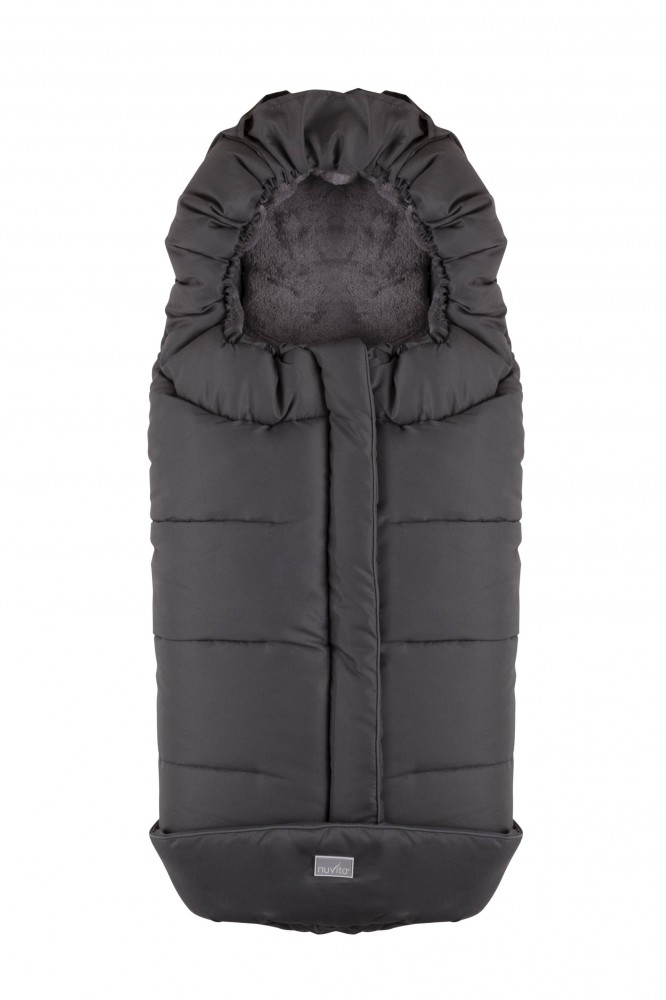 Sac de iarna 100 cm Nuvita City Dark Gray Grey 9545