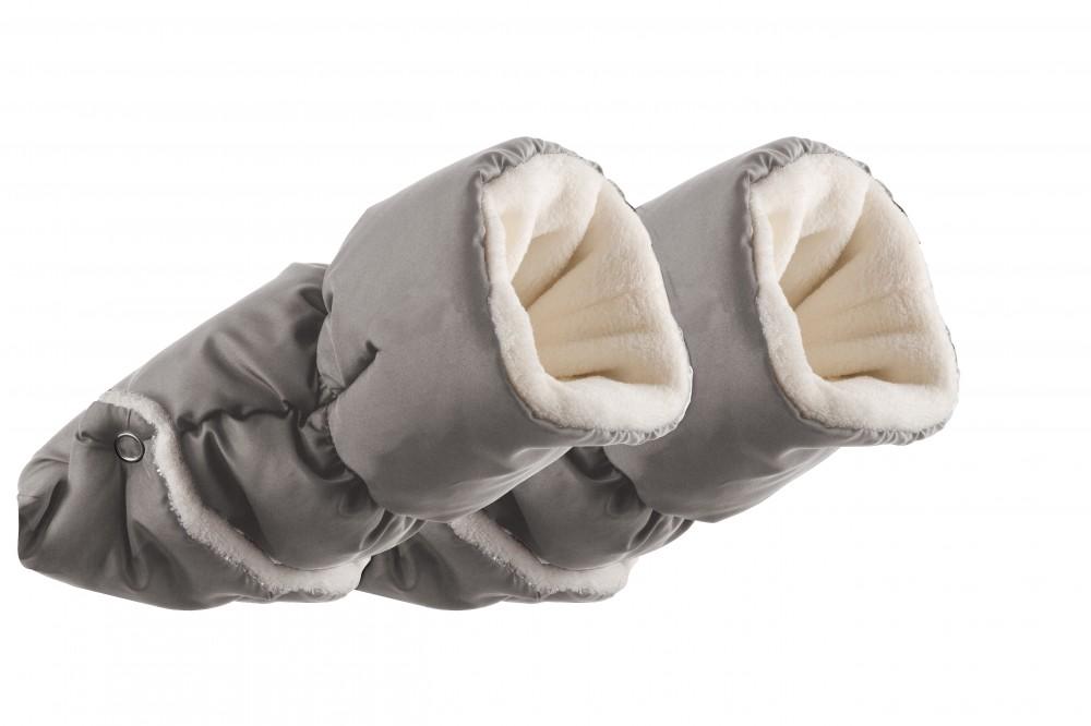 NUVITA Manusi pentru carucior 9305 Nuvita Handmuff Melange Light Grey