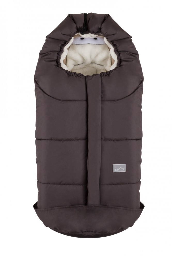 Sac de iarna 80 cm Ovetto Cuccioli Rabbit TaupeRabbit 9205 din categoria Carucioare Copii de la NUVITA