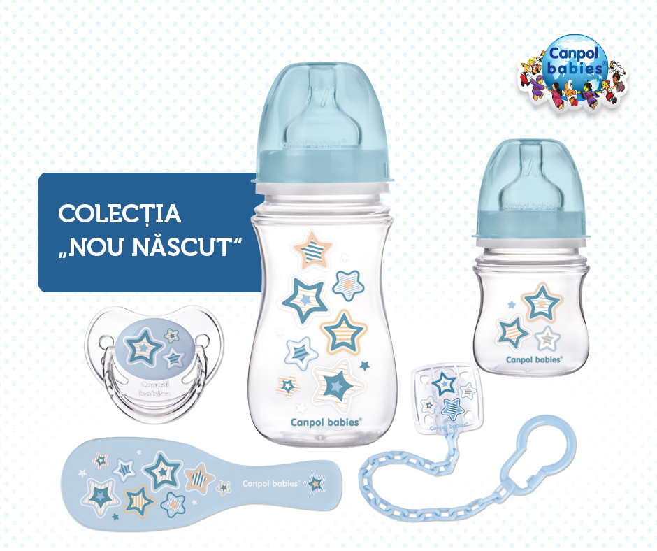 Pachet Newborn Baby Bleu
