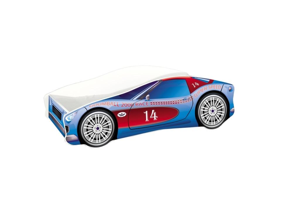 Pat Tineret Race Car 02 Blue 140x70 imagine