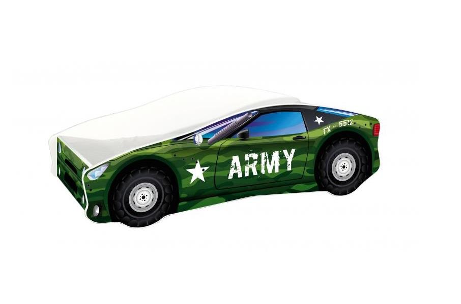 Pat Tineret Race Car 07 Army 140x70