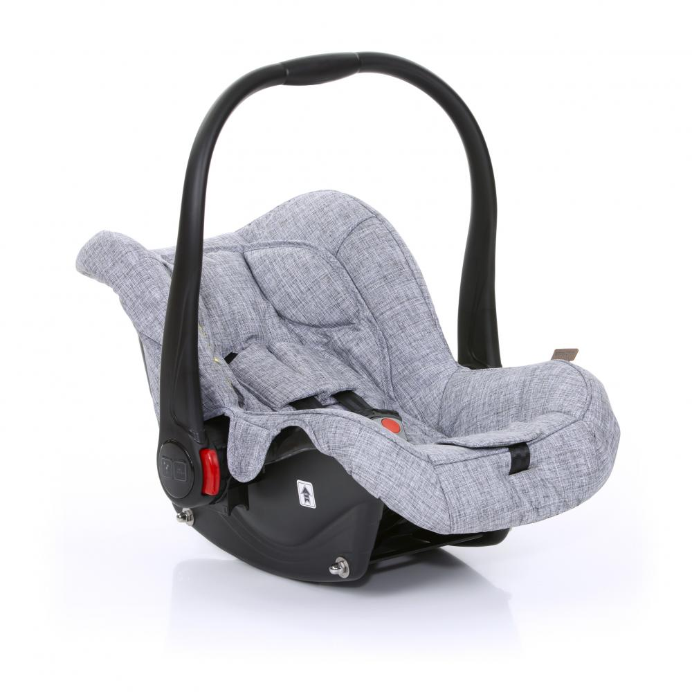 Scaun auto Hazel Graphite grey Gr.0+ ABC Design 2019 imagine