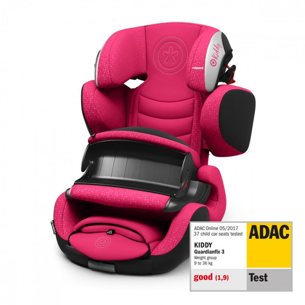 Scaun auto Kiddy Guardianfix 3 isofix Rubin Pink