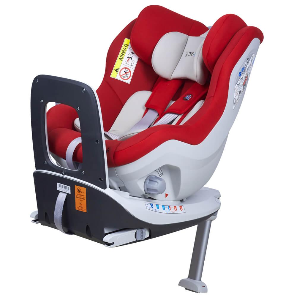 KidsCare Scaun auto Rear Facing rotativ Tiago 0-18 kg rosu KidsCare