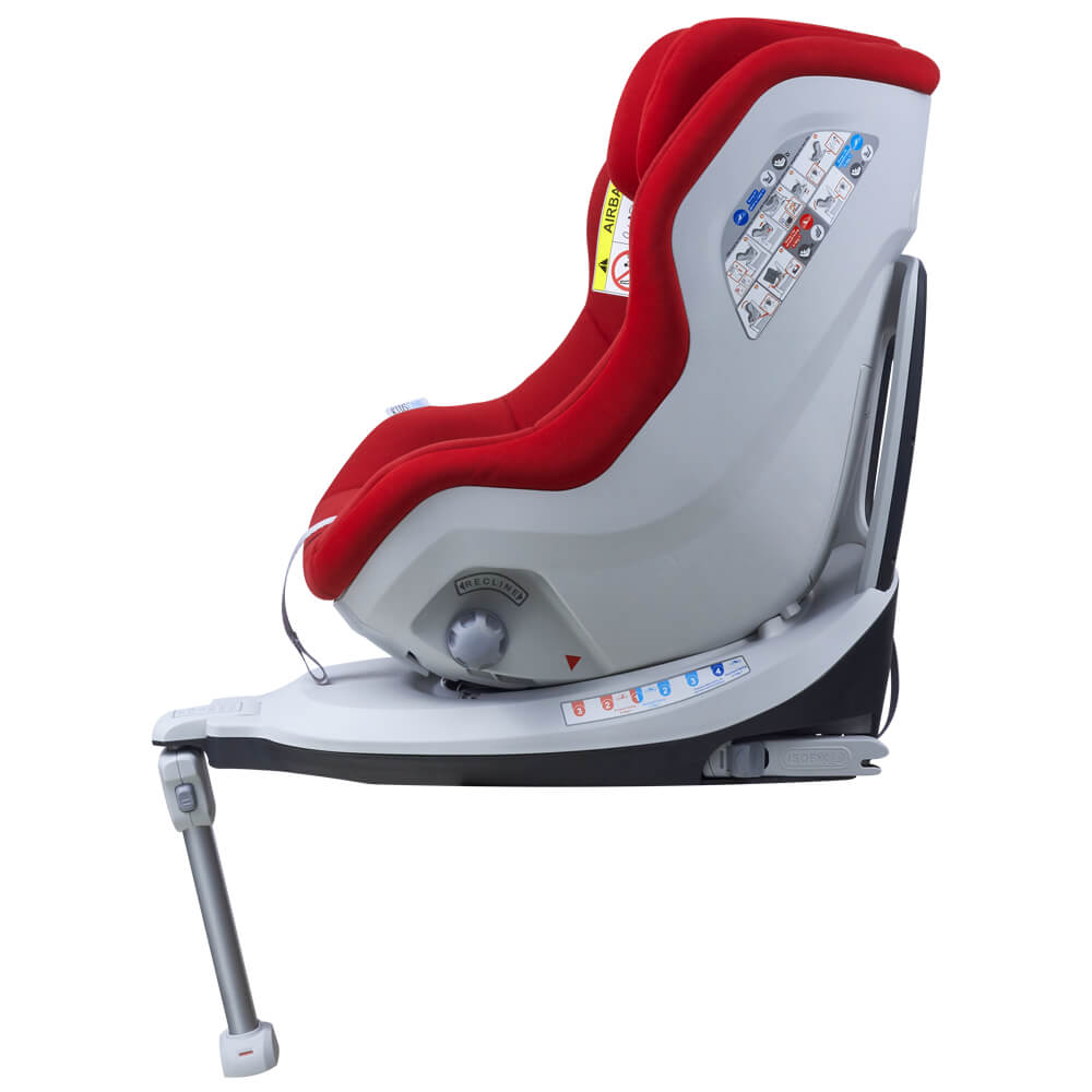 Scaun auto Rear Facing rotativ Tiago 0-18 kg rosu KidsCare