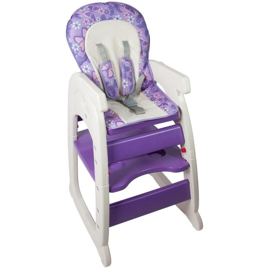 Scaun De Masa Multifunctional Baby Place Mamakids Mov Cu Fluture