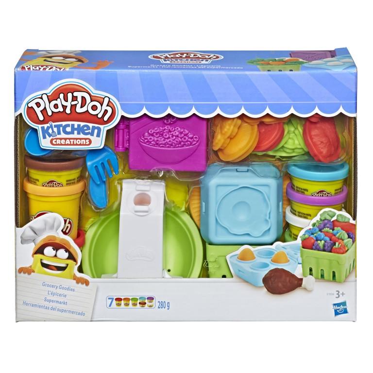 Set Cumparaturi la supermarket Play Doh