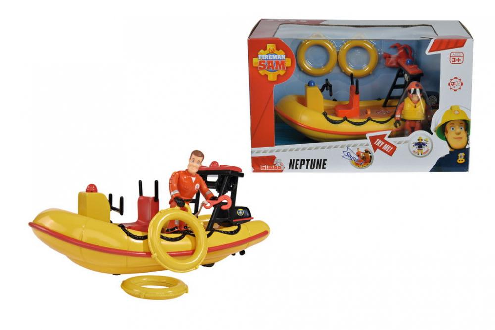 Set Sam Pompierul cu barca neptun
