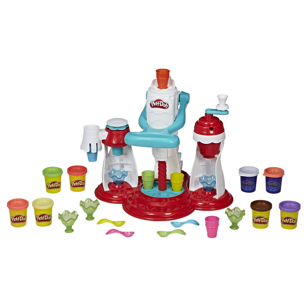 Set fabrica de inghetata Play doh