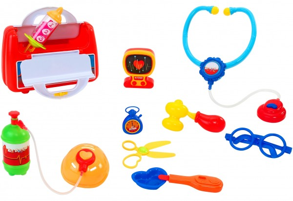 Set trusa doctor Globo cu valiza de plastic