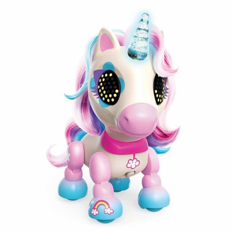 Unicorn Interactiv Zoomer Zupps Dream