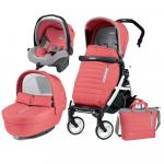 Carucior 3 in 1 Peg Perego Book Plus 51 Black&White Breeze Coral