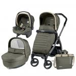 Carucior 3 in 1 Peg Perego Book Plus S Black Breeze Kaki