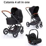 Carucior Catania 4  All in One 3 in 1 woven black  Circle by ABC Design 2019