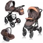 Carucior Crooner 3 in 1 Vessanti Brown
