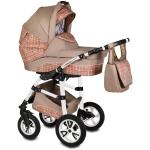 Carucior Flamingo Easy Drive 3 in 1 Vessanti Beige