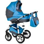 Carucior Flamingo Easy Drive 3 in 1 Vessanti Blue