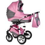 Carucior Flamingo Easy Drive 3 in 1 Vessanti Pink