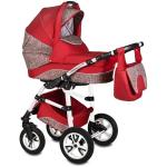 Carucior Flamingo Easy Drive 3 in 1 Vessanti Red