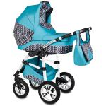 Carucior Flamingo Easy Drive 3 in 1 Vessanti Turquoise