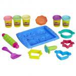 Creeaza prajiturele colorate play doh