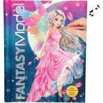 Fantasy Model Carte de colorat coperta cu muzica si luminite Depesche PT3433
