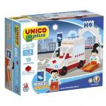 Joc de construit Unico Ambulance 19 pcs. AH