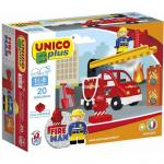 Joc de construit Unico Fire Man 20 pcs. AH