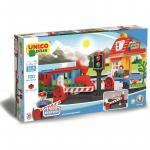 Joc de construit Unico Tren Station 100 pcs. AH