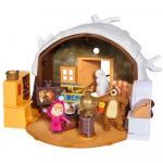 Jucarie Simba Masha and the Bear Winter Bears House