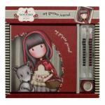 Jurnal in set de cadou Gorjuss Little Red Riding Hood